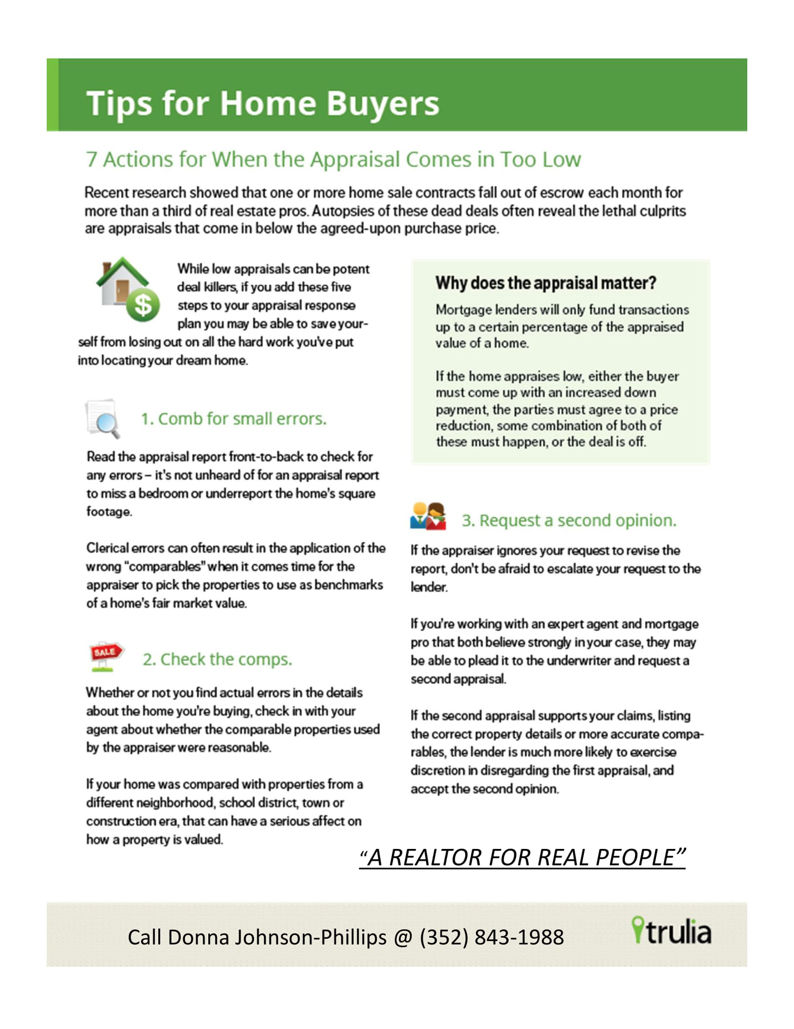 Low appraisals-7actions to take